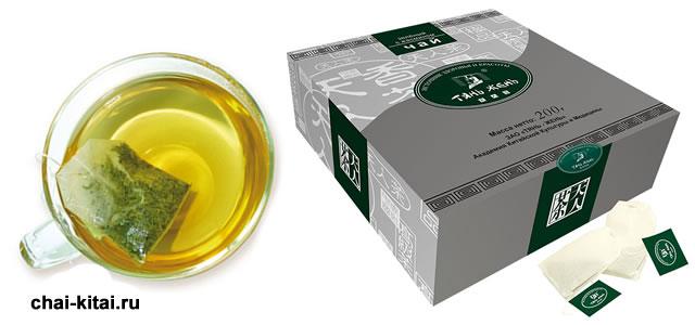 заваривание чая из пакетов