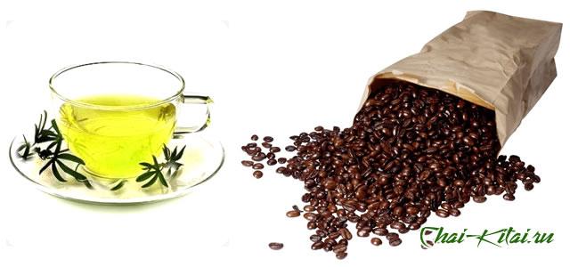 кофеин в чае и в кофе
