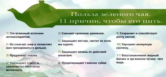 11 причин пить чай
